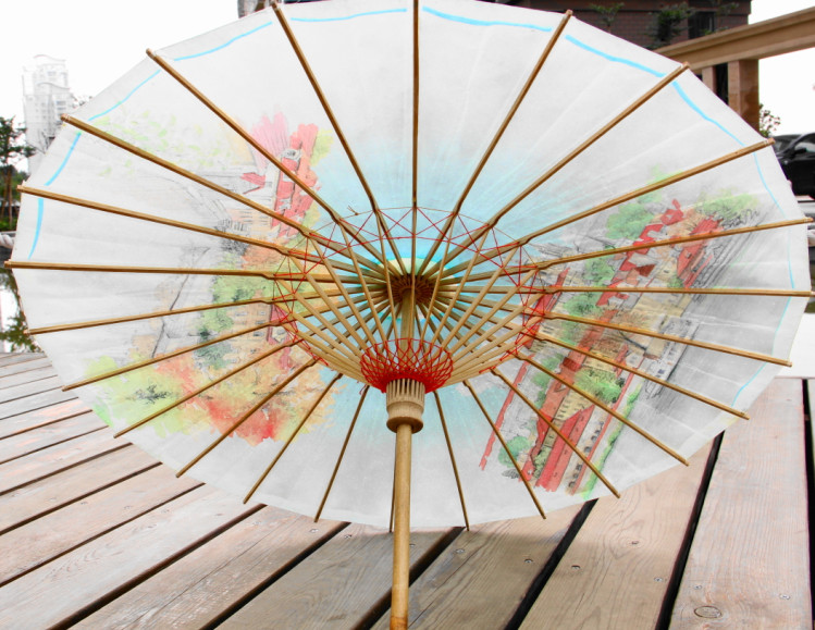 paper parasol Shop paper sun parasols at retroagogocom keep your skin and ink protected from the sun and look good while doing it wedding, party, car show wherever you go, do it with an original parasol design from your friends at retroagogocom.