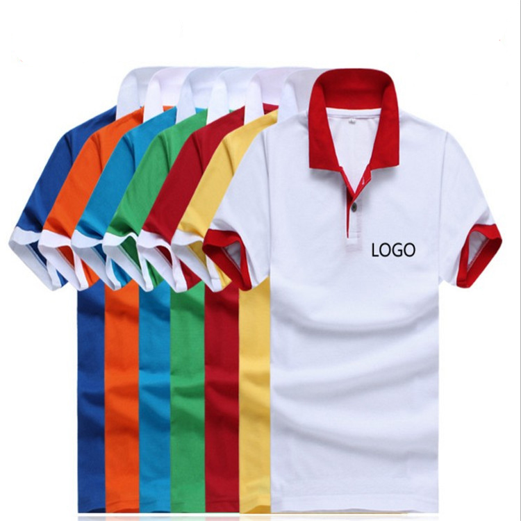 T Shirt Fabric Logo Printing 160gsm Polo Advertising Embroidery jLzMUSpGqV