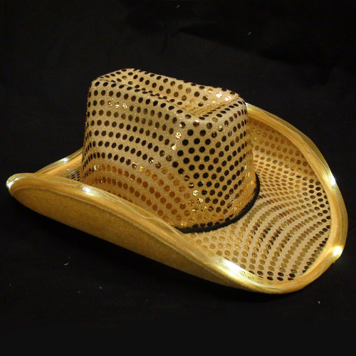 b614ccd0a4d Light Up Sequin Cowboy Hat - Promotional Products