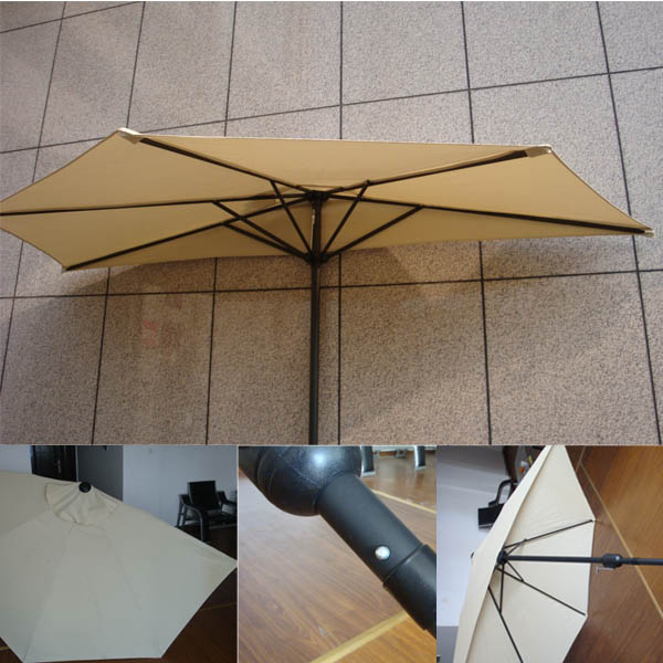 49 Half Canopy Patio Umbrella Off The Wall Promotional Items