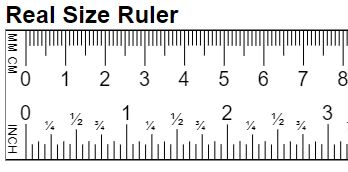 Online Real Size Ruler Mm Cm Inch